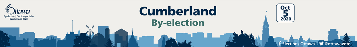Ottawa Cumberland By-Election October 5 2020
